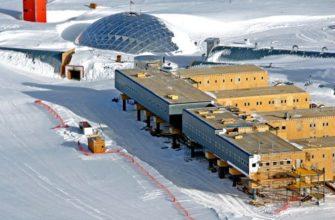 полярная станция из сип панелей