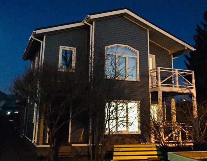 вид канадского дома