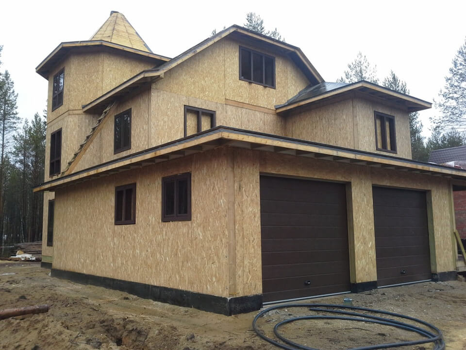 внешний вид канадского дома