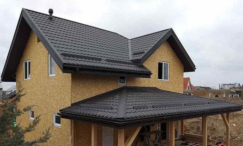 крыша канадского дома